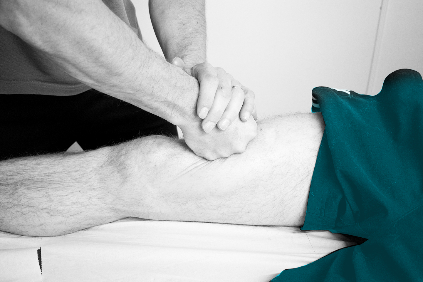 Physio Troy doing Physical Therapy/Physiotherapy massage. Links to Sports Massage explanation and booking.
